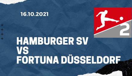 Hamburger SV – Fortuna Düsseldorf Tipp 16.10.2021