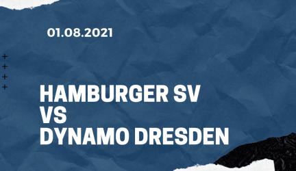 Hamburger SV – Dynamo Dresden Tipp 01.08.2021