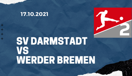 SV Darmstadt 98 – Werder Bremen Tipp 17.10.2021