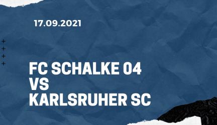 FC Schalke 04 – Karlsruher SC Tipp 17.09.2021
