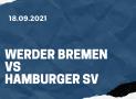 Werder Bremen – Hamburger SV Tipp 18.09.2021