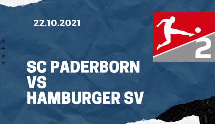 SC Paderborn – Hamburger SV Tipp 22.10.2021