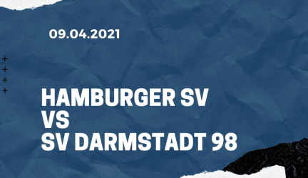 Hamburger SV – SV Darmstadt 98 Tipp 09.04.2021