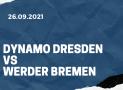 Dynamo Dresden – Werder Bremen Tipp 26.09.2021