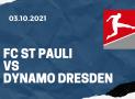 FC St. Pauli – Dynamo Dresden Tipp 03.10.2021