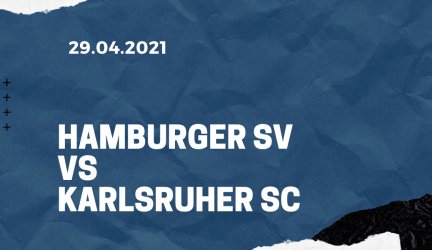 Hamburger SV – Karlsruher SC Tipp 29.04.2021
