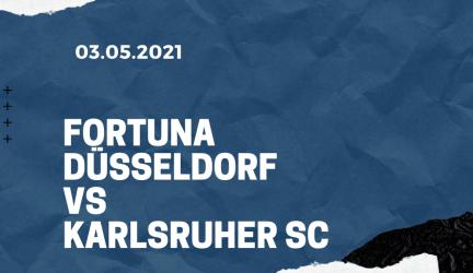 Fortuna Düsseldorf – Karlsruher SC Tipp 03.05.2021