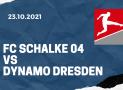 FC Schalke 04 – Dynamo Dresden Tipp 23.10.2021