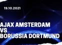 Ajax Amsterdam – Borussia Dortmund Tipp 19.10.2021