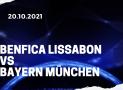 Benfica Lissabon – FC Bayern München Tipp 20.10.2021