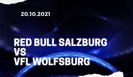Red Bull Salzburg – VfL Wolfsburg Tipp 20.10.2021