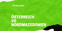 Österreich – Nordmazedonien Tipp 13.06.2021
