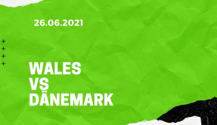Wales – Dänemark Tipp 26.06.2021