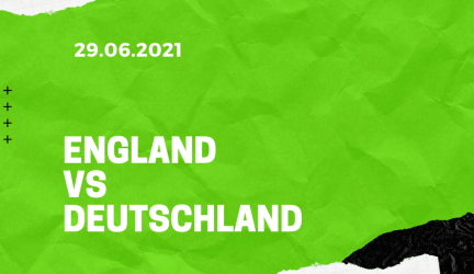 England – Deutschland Tipp 29.06.2021
