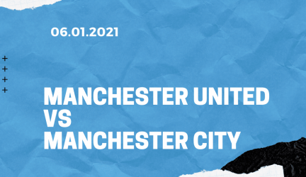Manchester United – Manchester City Tipp League Cup 06.01.2021