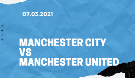 Manchester City – Manchester United Tipp 07.03.2021