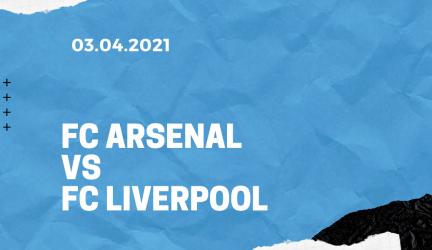 FC Arsenal – FC Liverpool Tipp 03.04.2021