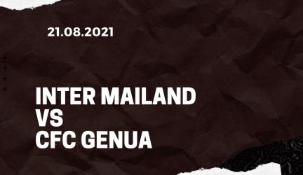 Inter Mailand – CFC Genua 1893 Tipp 21.08.2021