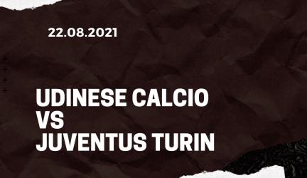 Udinese Calcio – Juventus Turin Tipp 22.08.2021