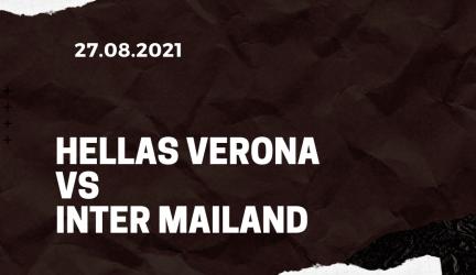 Hellas Verona – Inter Mailand Tipp 27.08.2021