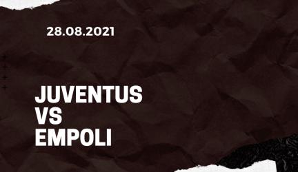 Juventus Turin – FC Empoli Tipp 28.08.2021