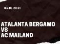 Atalanta Bergamo – AC Mailand Tipp 03.10.2021