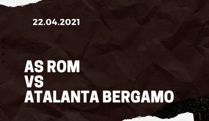 AS Rom – Atalanta Bergamo Tipp 22.04.2021