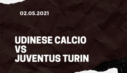 Udinese Calcio – Juventus Turin Tipp 02.05.2021