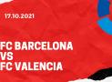 FC Barcelona – FC Valencia Tipp 17.10.2021