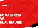 FC Valencia – Real Madrid Tipp 19.09.2021