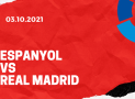 Espanyol Barcelona – Real Madrid Tipp 03.10.2021