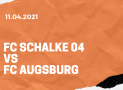 FC Schalke 04 – FC Augsburg Tipp 11.04.2021
