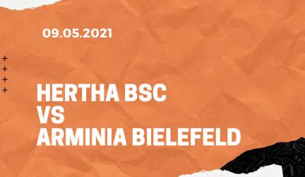 Hertha BSC – Arminia Bielefeld Tipp 09.05.2021