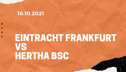 Eintracht Frankfurt – Hertha BSC Tipp 16.10.2021