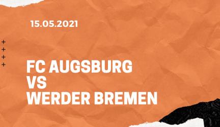 FC Augsburg – SV Werder Bremen Tipp 15.05.2021