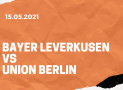 Bayer 04 Leverkusen – 1. FC Union Berlin Tipp 15.05.2021