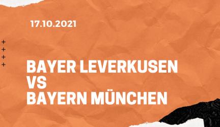 Bayer 04 Leverkusen – FC Bayern München Tipp 17.10.2021